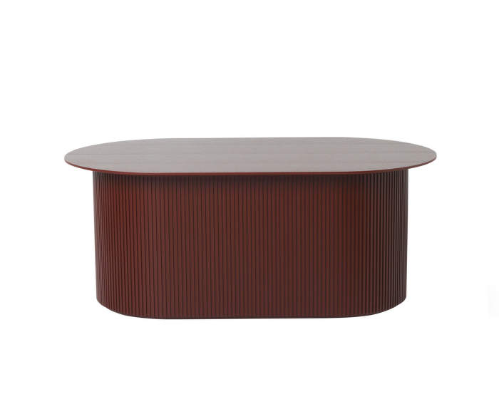 Stůl Podia Table, red brown