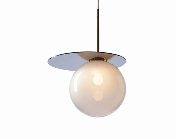 Lampa Umbra, light grey/blue
