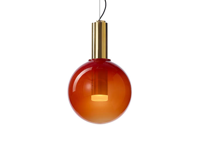 Lampa Phenomena, ferrari red/gold