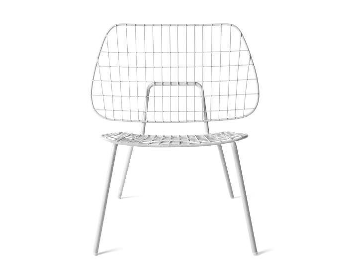 WM String Lounge Chair, White