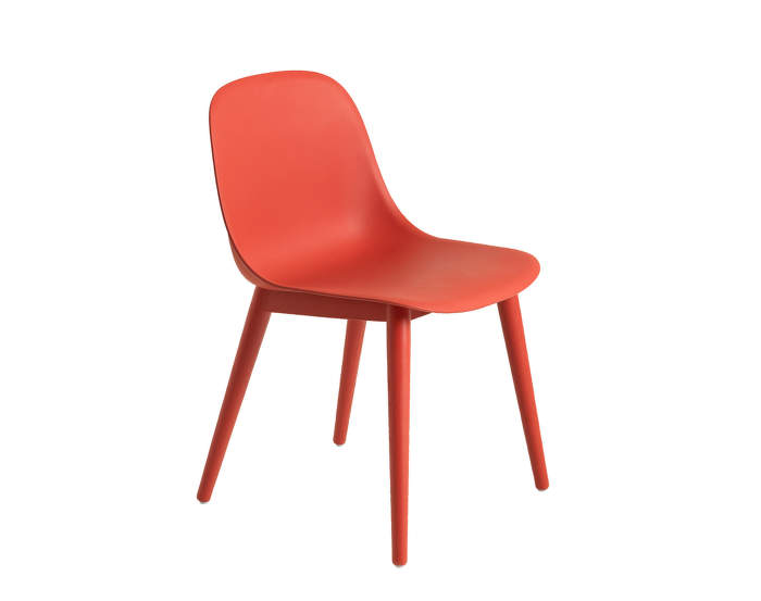 Židle Fiber Side Chair, Red
