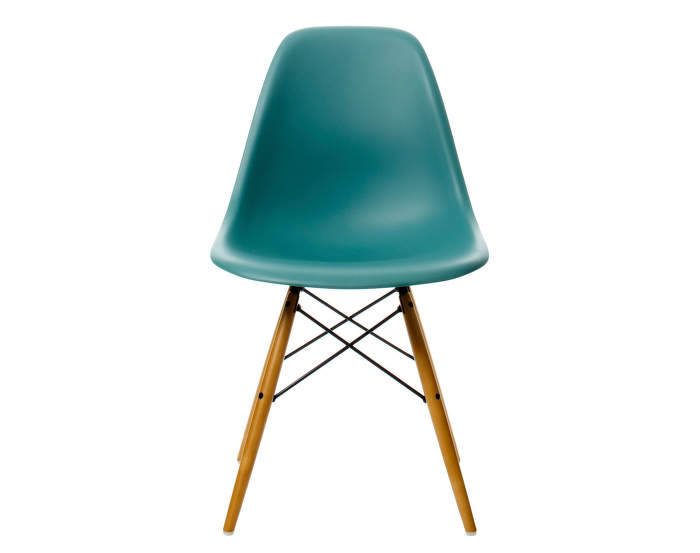 Židle Vitra Eames DSW, ocean
