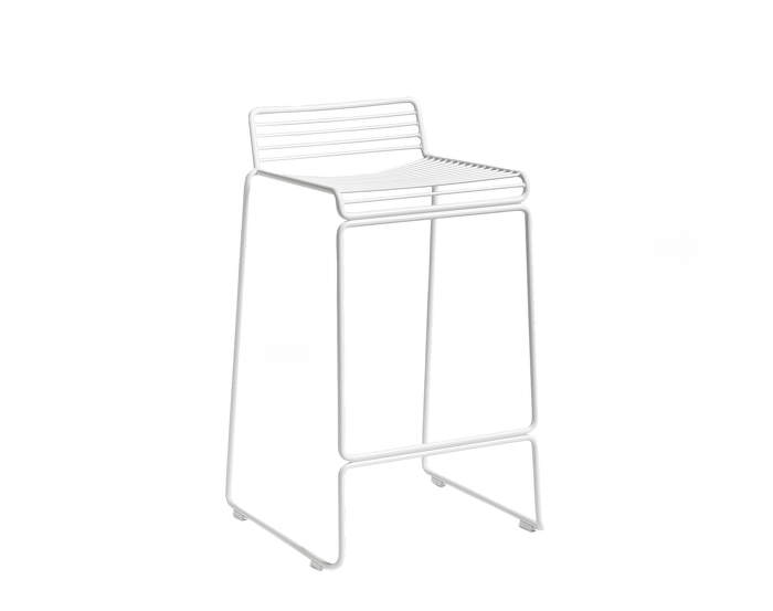 Barová stolička Hee Bar Stool, low white