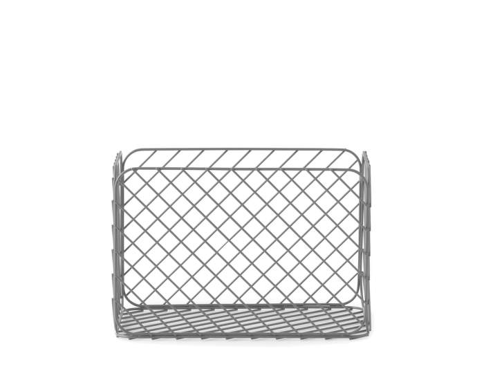 Track Basket Small Grey
