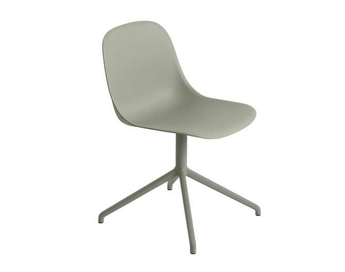 Fiber Chair Swivel, dusty green