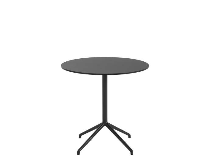 Still Café Table Ø75 x 73 cm, black