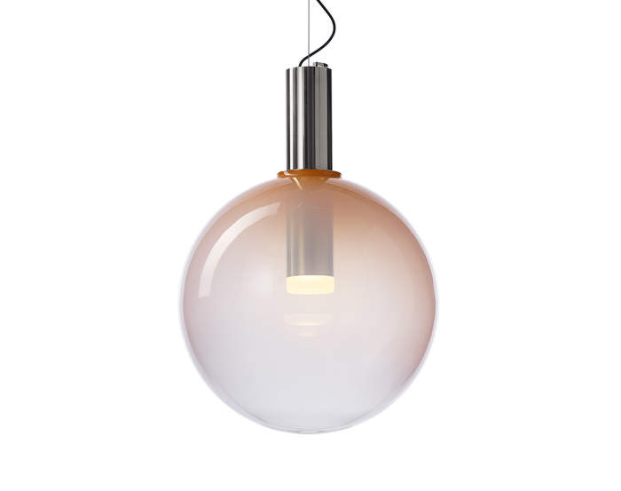 Lampa Phenomena, flamingo pink/gold