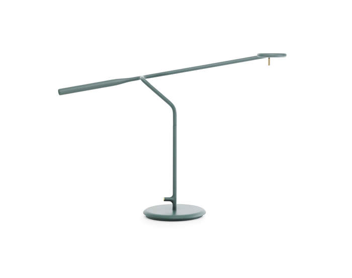 Stolní LED lampa Flow, dark green