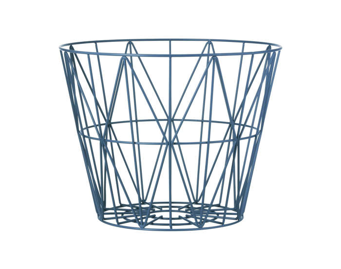 Wire Basket Large Petrol
