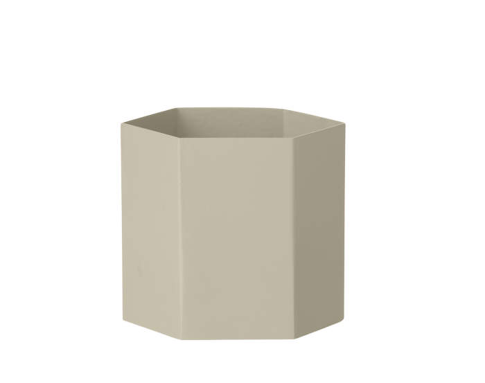 Květník Hexagon Pot L, Grey