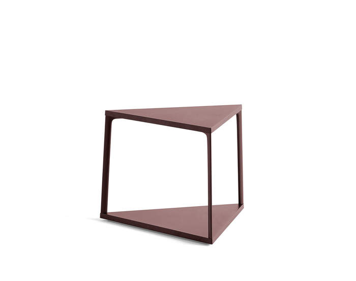 Stolek Eiffel Side Table, dark brick