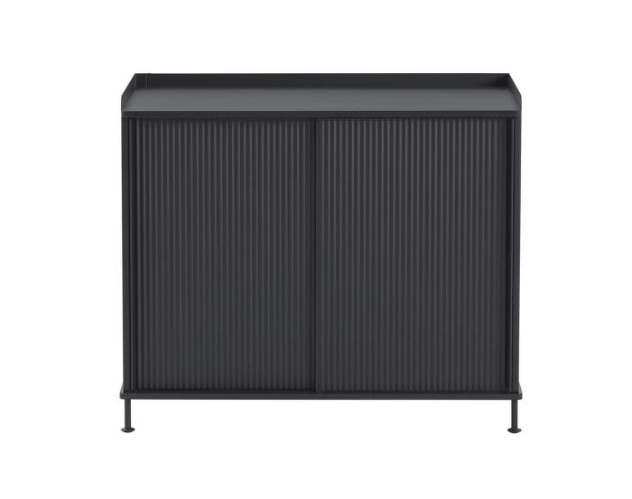 Komoda Enfold Sideboard Low, black