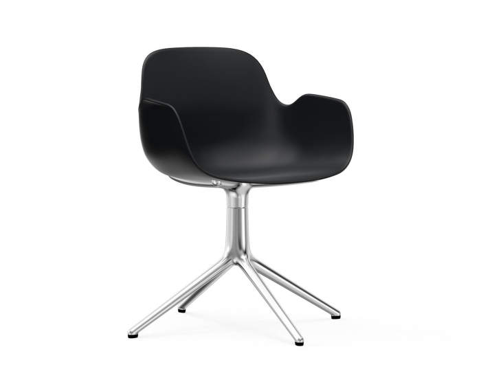 Židle Form Chair Swivel 4L Alu, black