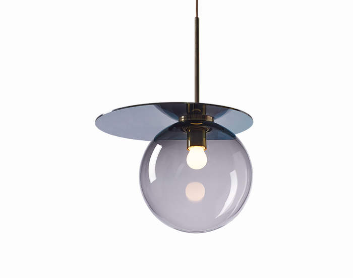 Lampa Umbra, smoke/blue
