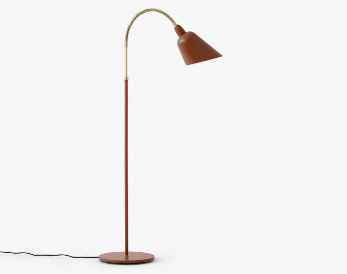 Lampa Bellevue AJ7, copper brown/brass