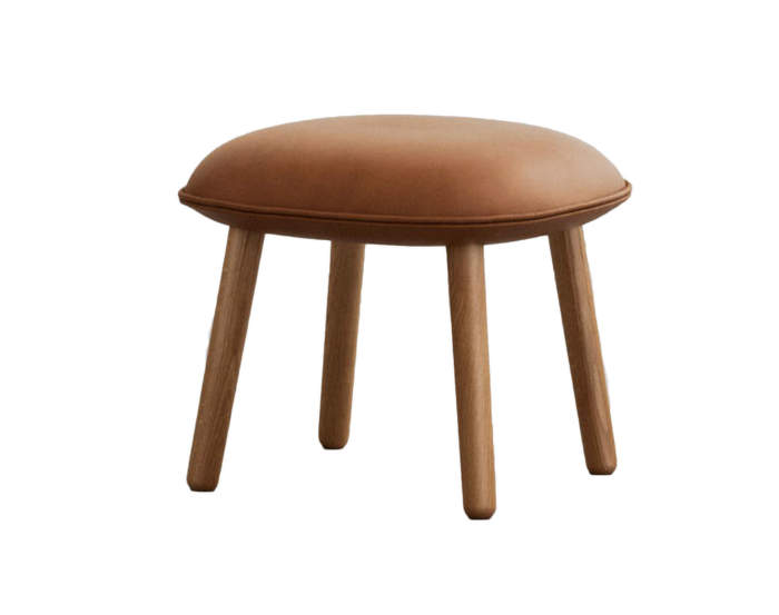 Ace Footstool Tango Leather, Normann Copenhagen