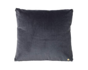 Polštář Corduroy Cushion, dark grey