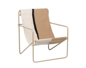 Křeslo Desert Lounge Chair, cashmere/soil