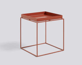 Stolek Hay Tray Table 40x40, red