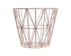 Koš Wire Basket large, rose