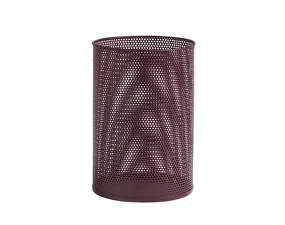 Koš Perforated Bin L, burgundy