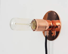Nástěnná lampa Frama E27 Wall Light, Copper