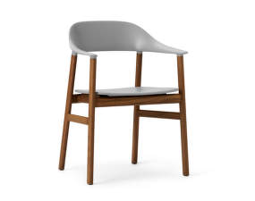 Židle Herit Armchair Smoked Oak, grey