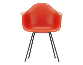Židle Eames DAX, poppy red