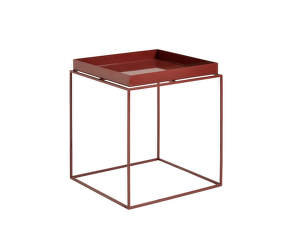 Stolek Tray Table 40x40, chocolate