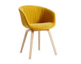 Židle AAC 23 Soft Lacquered Oak Veneer, Lola yellow