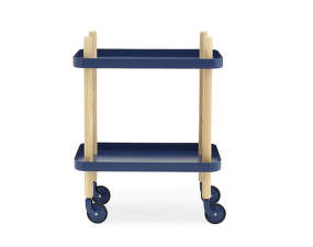 Servírovací stolek Block Table, dark blue