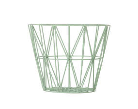 Koš Wire Basket medium, mint