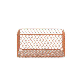 Track Basket Medium, Rust