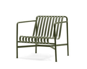 Židle Palissade Lounge Chair Low, olive