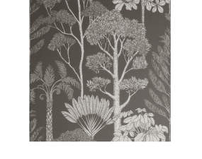 Tapeta Katie Scott Trees, brown grey