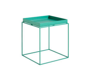 Stolek Tray Table 40x40, peppermint green