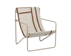 Křeslo Desert Lounge Chair, cashmere/shape