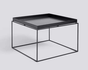 Stolek Hay Tray Table 60x60, black