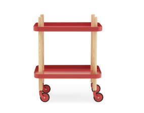 Servírovací stolek Block Table, red