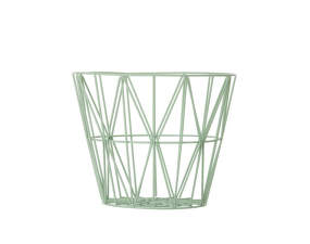 Koš Wire Basket small, mint