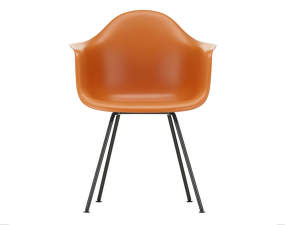 Židle Eames DAX, rusty orange