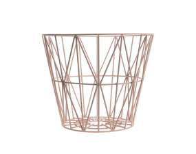 Koš Wire Basket medium, rose
