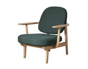 Lounge chair JH97, dark green