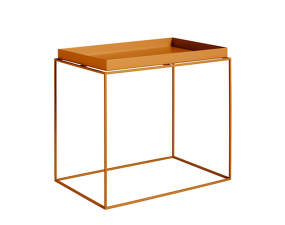 Stolek Tray Side Table Rectangular 40x60, toffee