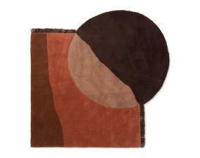 Koberec View Tufted Rug, red brown