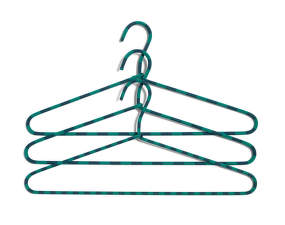 Ramínko Hay Cord Hanger Stripe, green, set 3ks