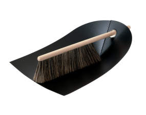 Smetáček a lopatka Dustpan & Broom, black