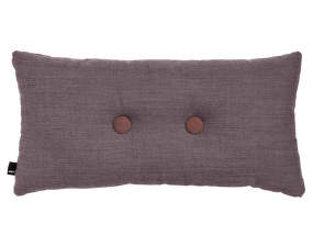 Polštář Cushion 2 Dots Surface Greyish Burgundy