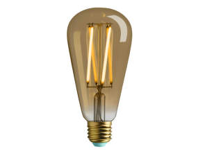 Retro LED žárovka WattNott Willis 4,5W, Gold
