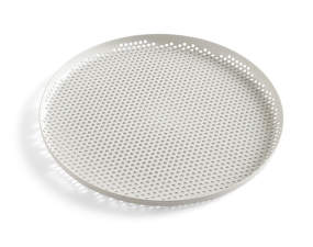 Tác Perforated Tray L, soft grey